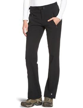 Columbia Maxtrail Full Leg Pant - Pantalones de senderismo para mujer, color negro, talla S