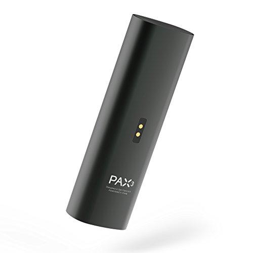 Pax | PAX 3 - Premium Tragbare Vaporizer - für Blätter - 10 Jahre Herstellergarantie - Neue Farbe - Basic Kit - Matt Schwarz