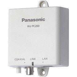 WJ-PC200E PANASONIC, Kamera-End-Einheit Einfache Umwandlung von Analog zu IP System mit Koaxialkabel