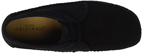 Clarks Originals Weaver Boot, Bottes Chukka Homme Noir (Black Sde)