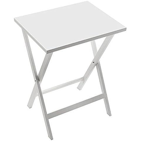 Versa 20930030 - Mesa plegable, color blanco