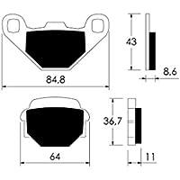 Bremszug hinten f/ür Kymco Agility 50 MMC 4T KG10C