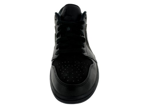 Nike Air Jordan 1 Low, Scarpe da Fitness Uomo Black/Black/Black