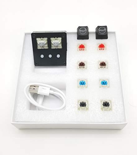 Preisvergleich Produktbild NONO pro-Version-Tastatur für OSU (4x Cherry MX DIY Switches) Spiel + 2X fast Silver Switch