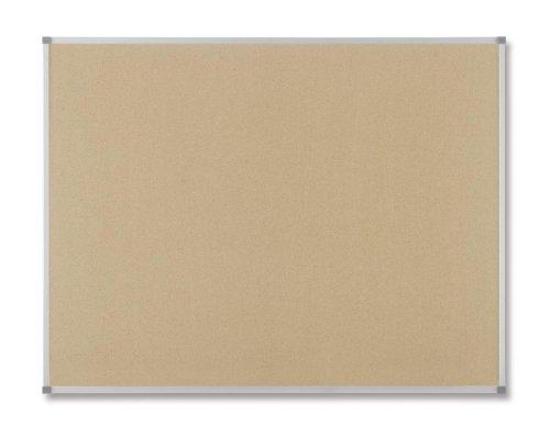 Nobo 1900919 - Tablero de corcho con marco de alumino, 60 x 90 cm