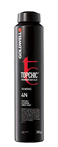 Goldwell Topchic Hair Depot 4N, mittelbraun, 250 ml
