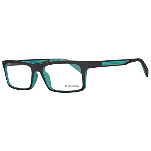 Diesel Herren Brillengestelle Brille DL5050 005 52, Schwarz