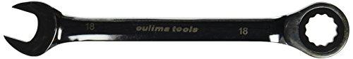 Praktischer Ring-Maulschlüssel, U-Form Open End Maulschlüssel 18 mm (Open Ended Set Spanner)