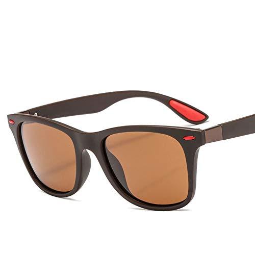 LL-GLASS Sonnenbrillen Klassisch Sport Sonnenbrillen Outdoor Sonnenbrillen polarisierte Sonnenbrillen für Männer Braun