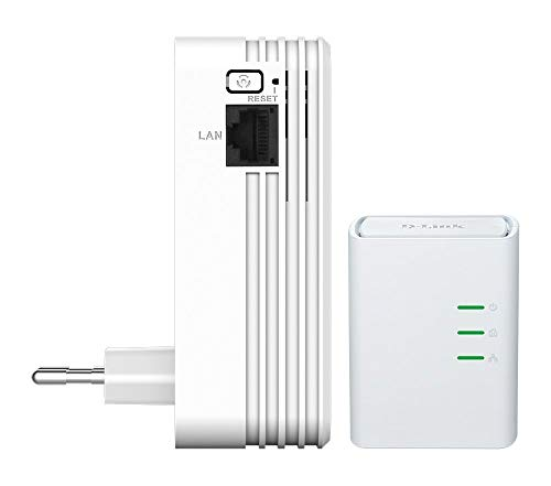 D-Link DHP-W311AV Kit PowerLine AV500, Wireless N 300Mbps con 1 Porta Ethernet,...