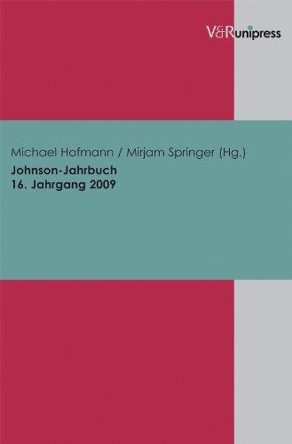 Buchseite und Rezensionen zu 'Johnson-Jahrbuch Bd. 16 / 2009' von Michael Hofmann