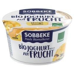 Söbbeke Joghurt auf Mango-Vanille inkl. Kühlverpackung (200 g) - Bio