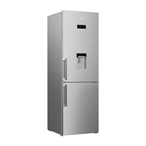 Beko rcna365ds réfrigérateur combiné-313 litres (216 l+ 97 l)-total no frost-a+-59.5cm x 185,3cm-silver
