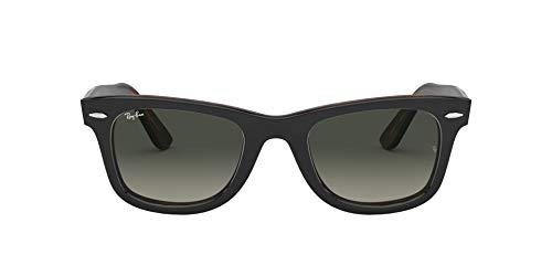 Ray-Ban Unisex-Erwachsene 0RB2140 Sonnenbrille, Gold (Top Grey On Havana), 50