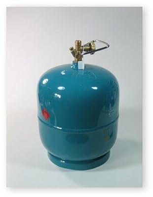 Leere befüllbare Gasflasche 3 kg Propan Butan Gas