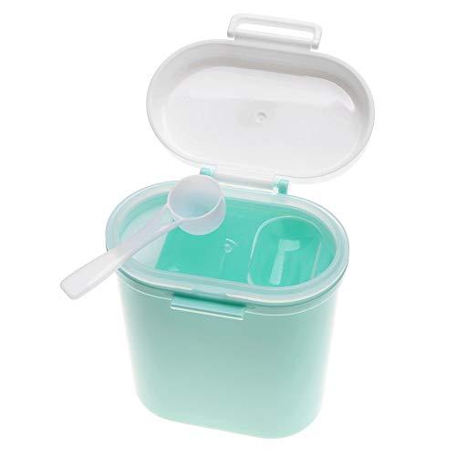 TOPINCN Baby Scatola per Latte in Polvere Formula Dispenser Portatile di plastica Bambini Snack Food Fruit Candy Contenitore Grande capacità, Green, Large Size