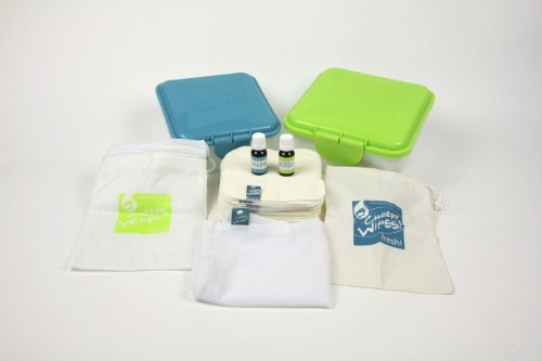 Cheeky Wipes Komplett-Kit Feuchttücher selbst herstellen 31-teilig