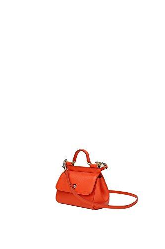 BB5999A10018H204 Dolce&Gabbana Sac à main Femme Cuir Orange Orange
