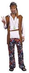 Boland 87175 - Kostüm Hippie, Einheitsgröße - Gute Partner Kostüm