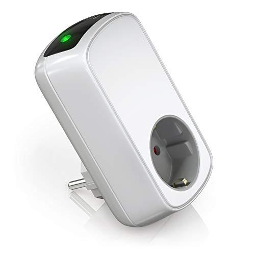Bearware - Timer elettrico - Temporizzatore di Accensione o spegnimento - Presa a risparmio energetico - max 3680W - Presa con dispositivo di sicurezza per bambini integrato