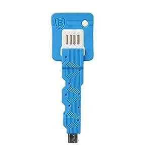 Jo Jo Baseus Portable Mini Key Charging Cable For Reliance Blue