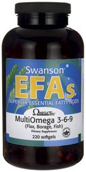 Swanson EFAs OmegaTru MultiOmega 3-6-9 (220 Softgels) from Swanson Health Products