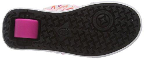 770682 Rosa Multicoloridas Unissex Flamingos Sneakers Lauflernschuhe Veloz branco Heelys PvFfHnxE