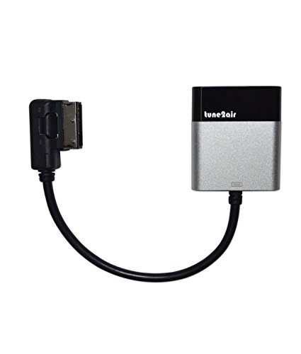 ViseeO tune2air WMA3000A Bluetooth Dongle für VW (MDI), Audi (AMI) und Mecedes (Media Interface) mit 30-Pin Anschluss (Bluetooth-streaming-adapter)