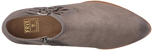 Frye Ray Belted Bootie Femmes Cuir Bottine Dark Grey