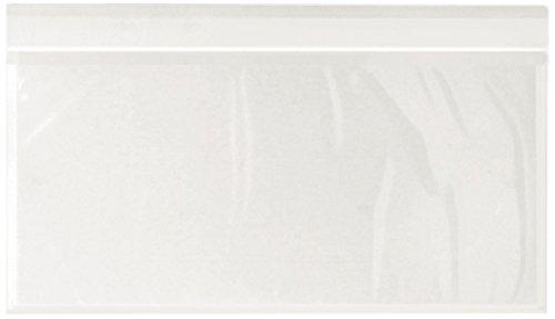WePack 240135100N Buste Autoadesive Portadocumenti DL Trasparente