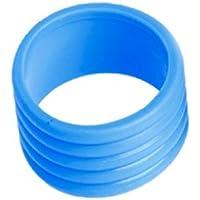 Lunji Sobregrip para Raqueta de Tenis de la Nueva asa Extensible de Raqueta de Tenis, Azul
