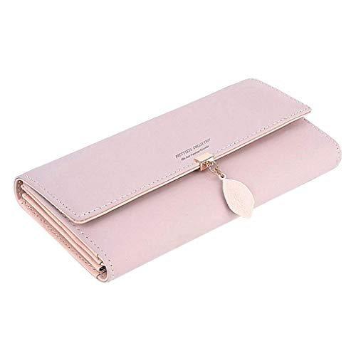 Cooljun Ausverkauf Mode Damen Handtasche Umhängetasche Umhängetasche Einkaufstasche Damenmode Lange Stil Student Card Wallet multifunktions Folding Geldbörse