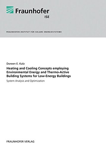 Heating and Cooling Concepts Employing Environmental Energy and Thermo-Active Building Systems.: System Analysis and Optimization.
