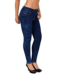 by-tex Jean Femme Skinny Jeans Femmes Taille Normale Push up Jean Pantalon  S900 e0566402fab