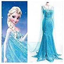 Vestido Elsa Adulto (Frozen) - M