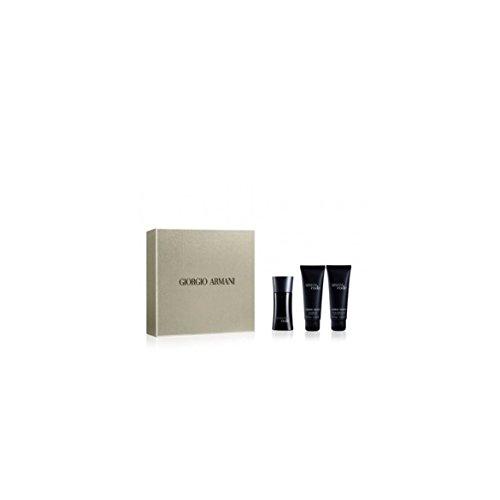 "Giorgio Armani""Code Homme"" man Set (Eau de Toilette Spray 50 ml + Duschgel 75 ml + After Shave Balm 75ml) 1er Pack(1 x 1 Stück)"