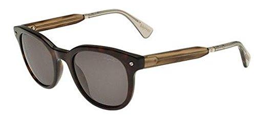 Unbekannt Sonnenbrillen Lanvin SLN688 BLACK BROWN/GREY BROWN Damenbrillen