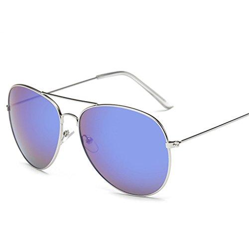 Sunglass Vovotrade Vintage Square Mirrored Eyewear Outdoor Sport Brillen (D)