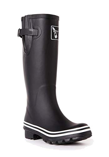 Evercreatures Plain Tall Wellies UK 7 EU 40