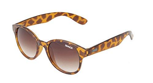 Sinner Erwachsene Sonnenbrille Trunk Clubmaster Polycarbonat Braun Tortoise