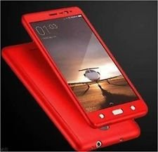 Yes2Good Slim Fit 360 Degree Full Body Protection Hybrid Case Cover for Samsung Galaxy Grand Prime (G-530) ( includes front & back cover & screen tempered glass ) - RED  available at amazon for Rs.299