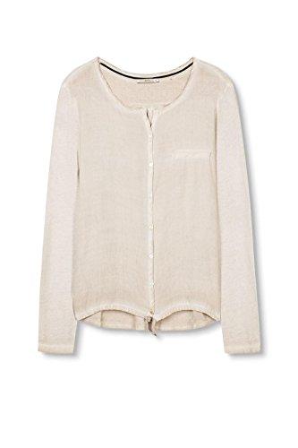 edc by Esprit, T-Shirt Femme Écru  (Ice 055)