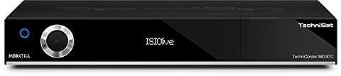 TechniSat TechniCorder ISIO STC - HDTV-Digitalreceiver mit erweiterbarem Doppel-QuattroTuner, Festplatten-Slot, integriertem WLAN und ISIO-Internetfunktionalität, schwarz