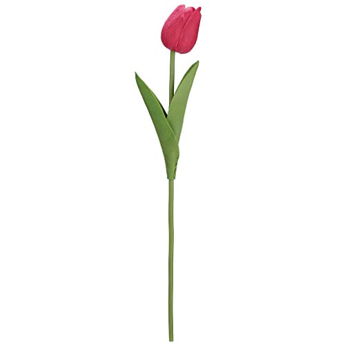 UEVOS künstliche Blumen Kunstblumenstrauß Bouquet Blume Mini Tulip Latex echte Braut dekorative gefälschte Blume Blumenschmuck Hochzeit Bouquet Home Decor Dekoration Wohnaccessoires