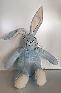 Canterbury Bears ltd 193 Bleu - Conejo de Terciopelo, Color Azul Claro