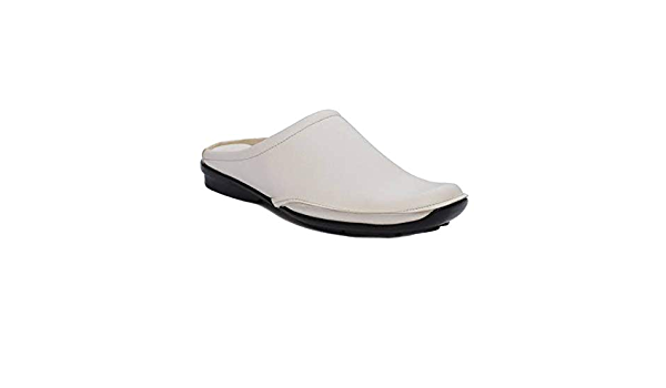 SHOOZ Faux Leather Look Casual Slippers