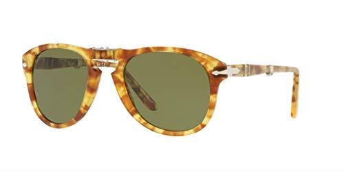 Ray-Ban Herren 0PO0714 Sonnenbrille, Mehrfarbig (Tortoise Yellow), 54