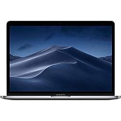 Apple MacBook Pro (13 pouces, Processeur Intel Core i5 quadricœur de 8e génération à 2,4 GHz, 256 Go) - Gris sidéral (Dernier Modele)