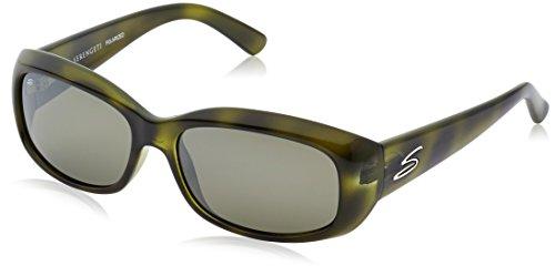 Serengeti Eyewear Sonnenbrille Bianca, Green Vintage Tortoise, M, 8092