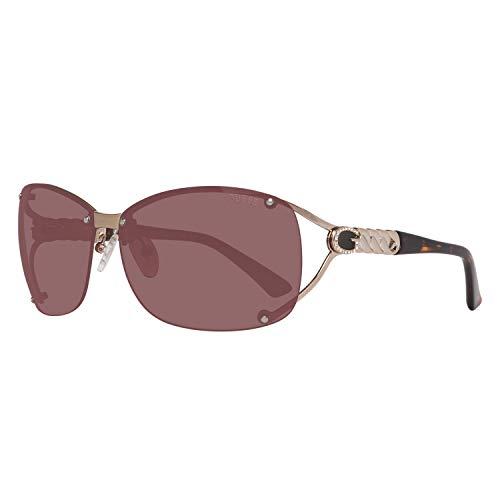 Guess Damen GU7481-6232F Sonnenbrille, Gold, 62
